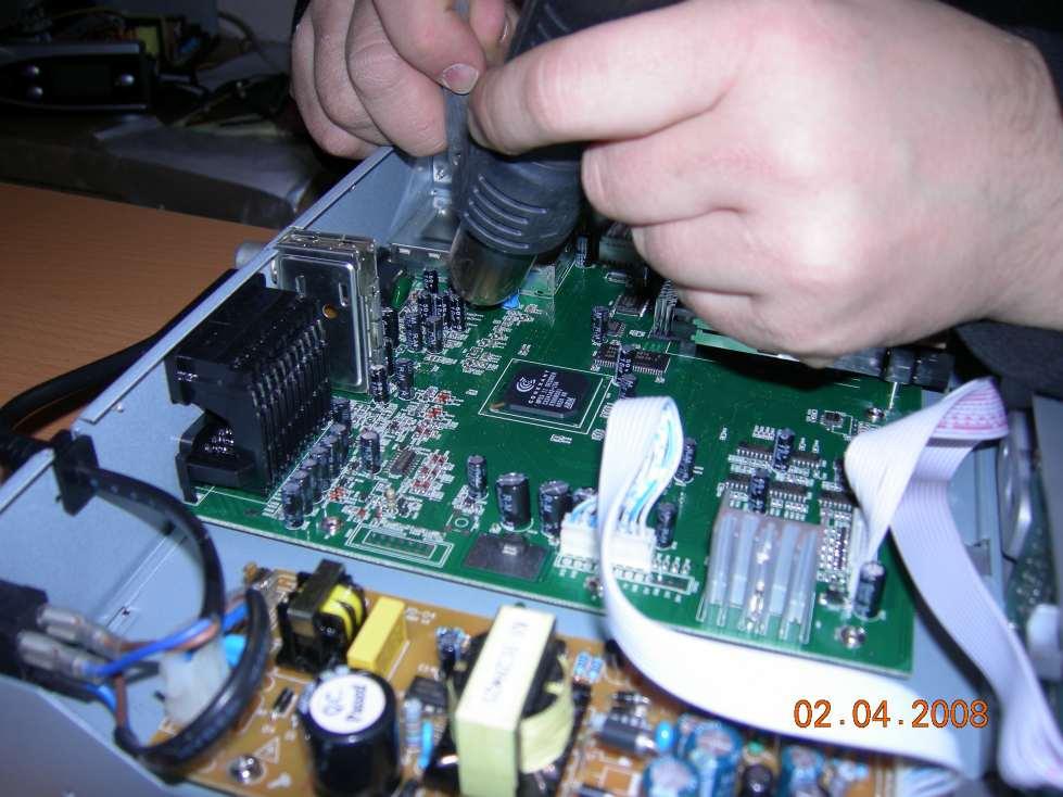 Спутниковый ресивер ремонт своими руками